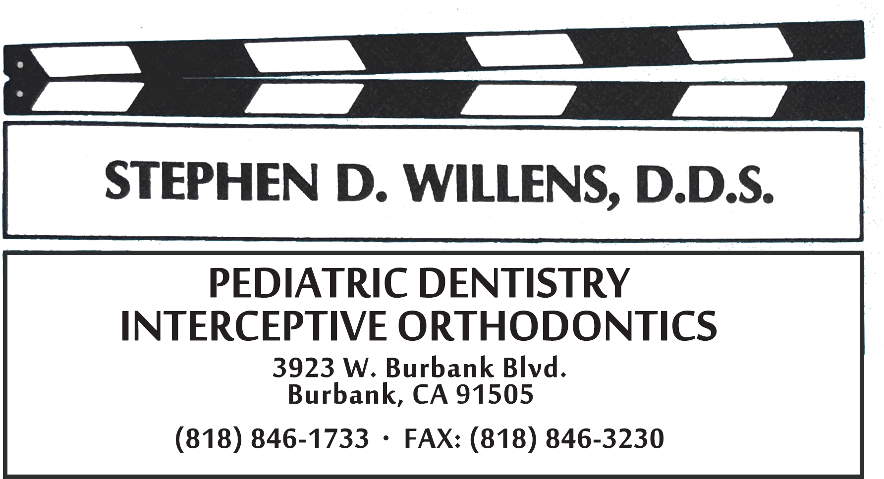 Logo for Dr. Stephen Willens - Pediatric Dentistry and Orthodontics in Burbank, CA